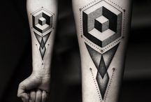 3D-Geometric tattoos