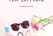Flatlay Tips & Inspo / Looking for flatlay inspo for Instagram? You've got it right here! With hundreds of different ideas we know you're going to totally smash that flatlay. Tag us in yours on insta @ellefluence we'd love to see it!