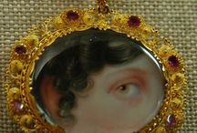 Lover's eye / 19th c lover's lockets / by Leslie Healey
