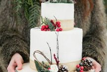 Zimowe torty weselne