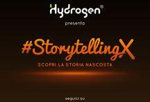 #StorytellingX / Esistono storie nascoste che pochi conoscono, e noi di Hydrogen vogliamo raccontarvele a modo nostro. Uno Storytelling puramente grafico in cui sono inseriti tutti gli indizi per arrivare alla soluzione.