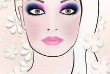 Makijaże - inspieracje / Piękne, twórcze, artystyczne, stonowane, szalone, klasyczne, zjawiskowe, proste, piękne, kolorowe makijaże