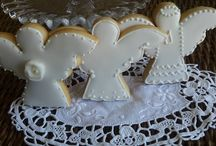 Cookies primeira comunhão / Cookies Anjinhos / Cookies