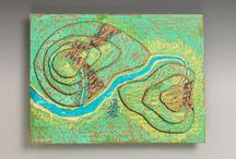 Mapping / by Judy Davidson