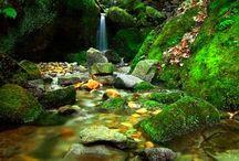 natuur/ landschap /watervallen
