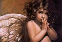 Angels/Christian Art / Angels and art depicting them