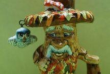 Коллекционные изделия / Коллекционные фигуры из керамики