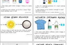cleaning tricks and how to's / by Clever Monkey Graphics