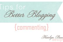 Blog Tips / by Rachelle Williams