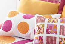 Pillows and Cushions / A variety of Pillow sizes. shapes and themes for use throughout the home.