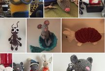 I made this crochet Amigurumi / I made this from free patterns