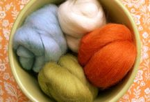 Hand-felted wool