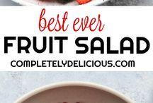 Fruit salads ♡♡