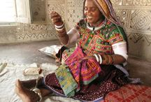 My Indian friends and artisans / People I work with in India