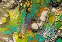 Acrylic and Resin Art Inspiration
