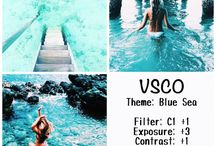 vsco recipes:)