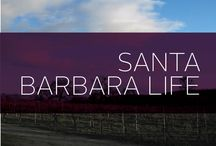 Santa Barbara Life / Get acquainted with the beautiful Santa Barbara through these pins and tips. If you're not lucky enough to live in Santa Barbara, you can experience the magic of the city through these pins and get inspired to visit or move here one day.