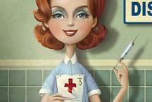 Zdravotnictví - zdravotní sestra
