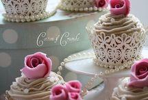 Wedding muffins | Muffiny weselne / Więcej wyjątkowych inspiracji znajdziesz na: www.dream-design.pl
