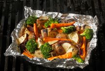 Cuisson papillote BBQ