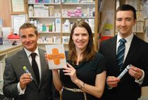 Anaphylaxis Campaign / In summer 2013 community pharmacies across Scotland began a campaign to raise awareness of the dangers of anaphylactic reactions. Pharmacies have pledged to increase access to potentially lifesaving adrenaline injections for patients all over Scotland. An orange cross logo is visible in pharmacy windows all over the country showing the availability of emergency assistance in the premises.  To take part in promoting the Anaphylaxis Campaign visit our website.