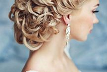 Bridalicious Hairstyles / A woman's hair is a symbol of her personality, strength, beauty so it should be no different on her wedding day. Wedding hairstyle ideas for the bride and bridesmaids.