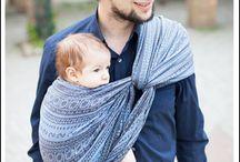 Baby wearing / by Toni Engel