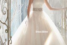 Wedding dresses& shoes