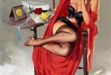 Pin-Ups, Posters & Ads / by Vivian Ericson