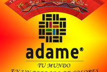 Adame Artesania Textil / Tu mundo en bordado de colores