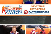Nerf - Blaster Warz / We are Melbourne's premier Nerf entertainment provider with Blaster Warz parties recommended for ages 8 and above. We have fixed locations and also bring the fun to a space local to you as well.