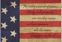 Patriotic Cards / We are proud of our nation, but even prouder of those who defend and protect all who live in it.