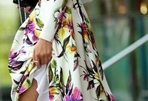 Flowery summer dresses