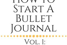Bullet Journal / Bullet Journal Ideas and inspiration. How to start bullet journal and examples