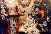 Noël thèmes décors jouets