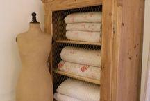 ♡ Armoires & Linen Cupboards...