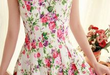 Floral Fashion / Floral Fashion, Floral Dresses & Trends, Everything with Floral, Clothing and Accessories... / by Martin Lepage