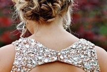 Prom hair / Hair suggestions for senior prom