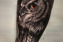 Tattoos owl