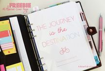 A5 Planner Goodies