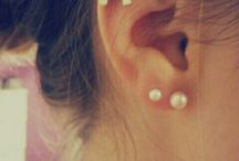 Second Ear Piercings- Cute, Fun and Girly Idea