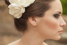 Bridal headgears and veils