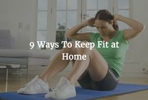 How To Keep Fit At Home / Feeling an economic pinch coming? Why not try working out at home this month? We have collected some of the best, safe home workouts available on Pinterest. See more information on our blog: https://www.thehouseshop.com/property-blog/keeping-fit-from-home/4038/