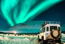 See the wonders of the world with #LandRover. #Defender #Regram from @chrisburkard. #NothernLights #NaturalWonders by landrover http://ift.tt/1UU9UxE
