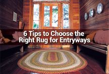 Learn about Rugs / How-to's, tip and advice on choosing, caring for and decorating with rugs