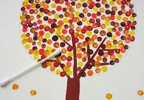 ⛅ Viva el Otoño / Actividades sensoriales, de estimulación y creativas ligadas al otoño, a sus días frescos y a las hojas que caen.#discapacidad  #otoño