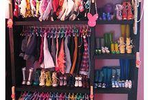 Barbie's organizers