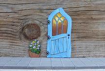Tooth fairy doors