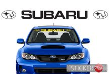 Car Stickers / Car Stickers (vinyl decals) in a range of colours and sizes.
