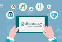 WellnessAppy - A Mobile App for Hospitals and Clinics